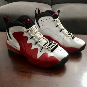 Nike Air Penny 3 size 9.5 Varsity Red Black White